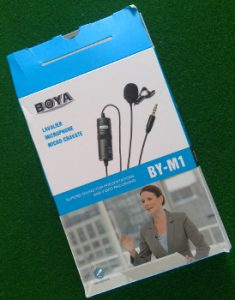 An external microphone is a must have.